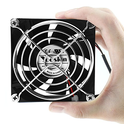 Yoosion 80mm Computer Fan Silent USB 2.0 Powered Radiator 8cm Cooling Fan for TV Box PC Computer CPU Cooler (Computer Fan Box compare prices)