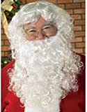 New Christmas Santa Claus Costume Beard With Wig Set:  One of the Christmas Halloween Costumes