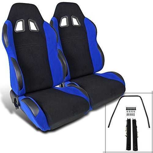 Spec-D Tuning RS-504-2 Racing Seat (Racing Seats For 98 Dodge Neon compare prices)