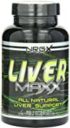 NRG-X Labs Liver Maxx Capsules 60-Count Bottle