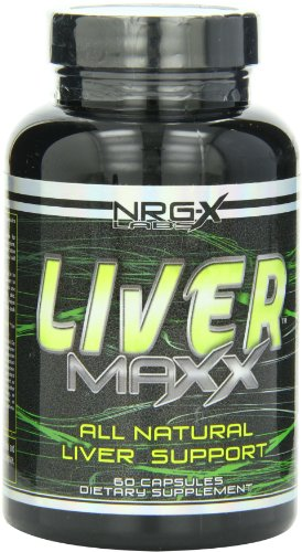 NRG-X Labs Liver Maxx Capsules, 60-Count Bottle