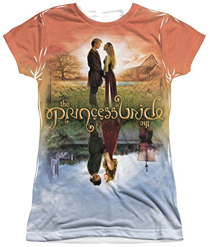 Sublimation: Junior Fit - Poster Sub The Princess Bride T-Shirt PB143JF