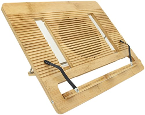 Ucharge Bamboo Multi-function Portable Folding Book Stands and Holders For Reading/Tablet/e-readers/Ipad/Music/Laptop/Document/Painting/Art/Cookbook Stand or holder with 6 Adjustable Positions (Freestanding Art Panels compare prices)