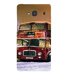PrintVisa Travel London Bus Design 3D Hard Polycarbonate Designer Back Case Cover for Xiaomi Redmi 2S