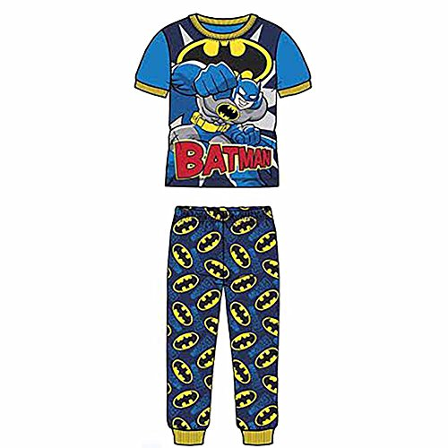 Batman-Boys-2-Piece-Pajama-Set-Size-5