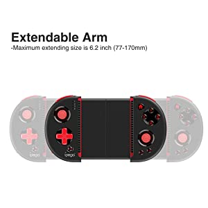 Docooler ipega PG-9087 Wireless Controller Joystick Telescopic Game Controller for Android Tablet PC TV Box