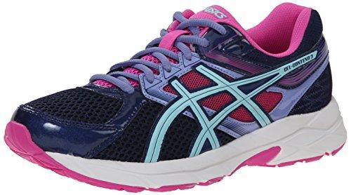 ASICS Women's Gel-contend 3 Running Shoe, Indigo Blue/Aqua Splash/Pink Glow, 8 M US