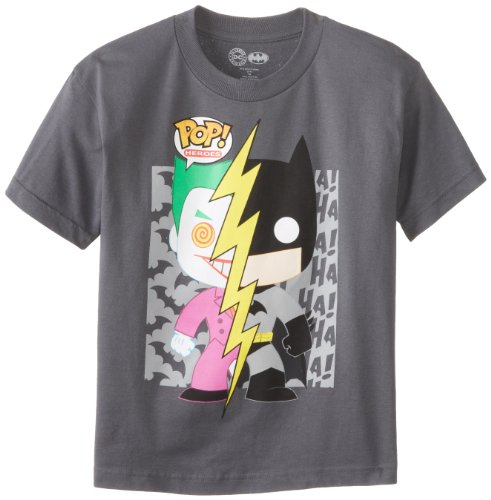 DC Comics Boys 8-20 Funko Joker and Batman M at Gotham City Store