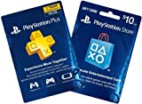 1-Year PS Plus + $10 PS Gift Card - PS3 / PS4 [Digital Code]