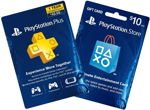1 year ps plus 10 ps gift card ps3 ps4 digital code best real games. Black Bedroom Furniture Sets. Home Design Ideas