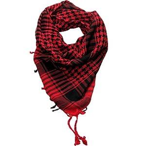 Red Desert Scarf  Try these trendy desert scarves  Shemagh  Keffiyeh