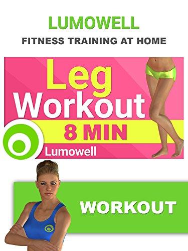 8 Minute Leg Workout - Best Exercises