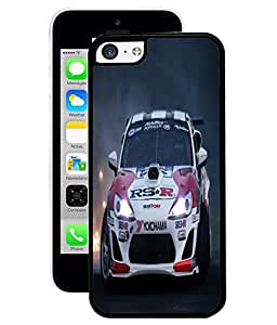 Fuson 2D Printed Rockstar Car Designer Back Case Cover for Apple iPhone 5C - D753