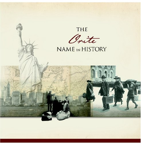 The Orite Name in History