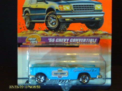 #46 of 100 '55 Chevy Convertible Matchbox - 1