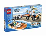 LEGO City Model 7726 Coast Guard Truck with Speed Boat