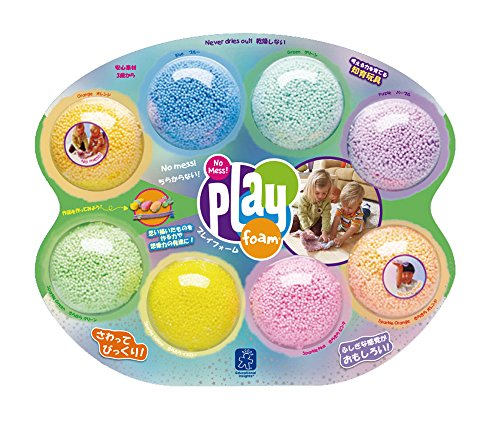 Educational Insights Playfoam - Combo 8-Pack 【知育玩具 つぶつぶ粘土遊び】 プレイフォーム コンボ(8個入り) 正規品