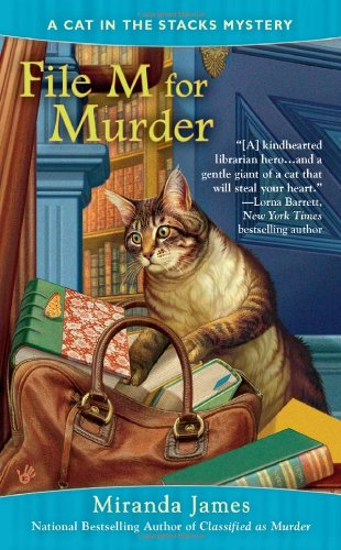 File M for Murder (Cat in the Stacks Mystery)