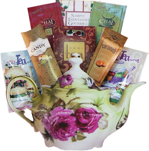Art of Appreciation Gift Baskets Afternoon Tea Time Gift Bag Tote