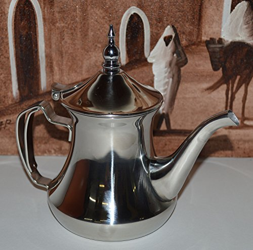 Tea Serving & Glasses Moroccan Serving Tea Pot Serving Kettle 48 Oz Large
