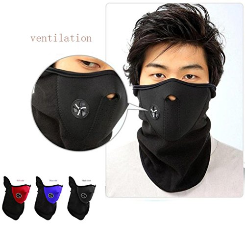 [EKIMI Wholesale Windproof Winter Outdoor Riding Cycling Warm Ski Mask Face Shield] (Full Face Gas Mask Costume)