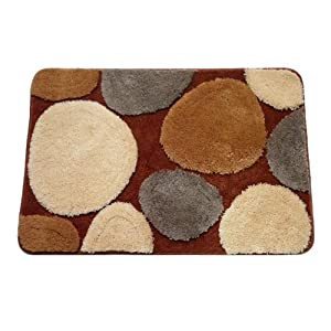 Naomi - [Stone's Love-2] Luxury Home Rugs (17.7 by 25.6 inches)