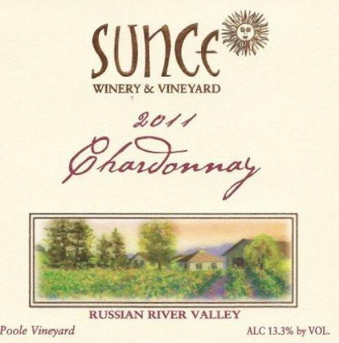 2011 Sunce Winery Chardonnay Winemaker'S Reserve 750 Ml