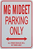 MG MIDGET Parking Only Sign