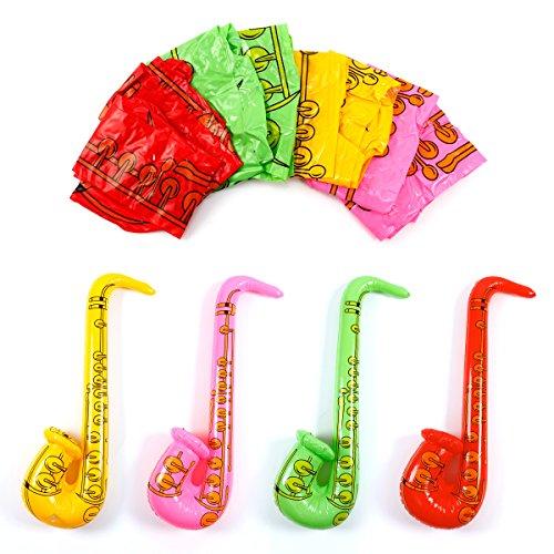 8er-Aufblasbare-Luftsaxophone-Bunt-Luftsaxophon-Luft-saxophon-Air-Saxophon