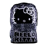 Hello Kitty Sublimation Snake Black and White Backpack