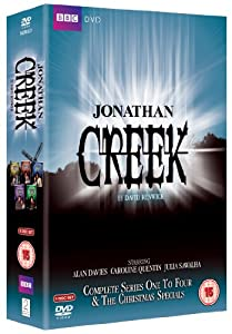 Jonathan Creek Complete Series 1 - 4 & The Christmas Specials Box Set [DVD]