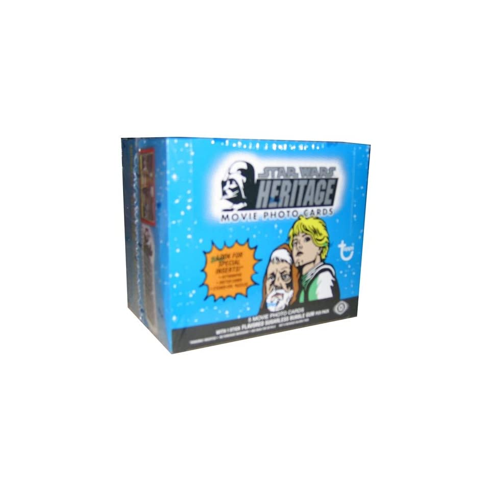 Star Wars Heritage Trading Card Box by Topps