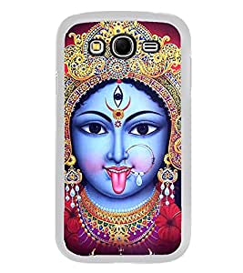 Maa Kaali 2D Hard Polycarbonate Designer Back Case Cover for Samsung Galaxy Grand I9082 :: Samsung Galaxy Grand Z I9082Z
