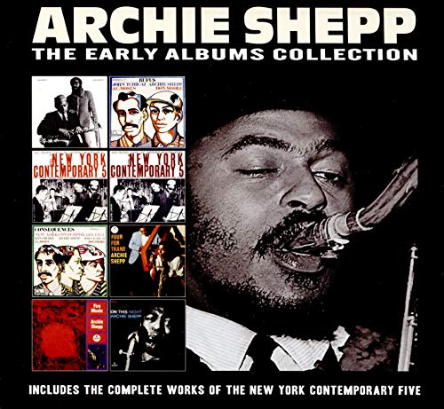 CD : ARCHIE SHEPP - Early Albums Collection (4 Discos)