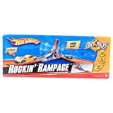 Hot Wheels Trick Tracks Rockin Rampage Expansion Stunt Set (Car Included)