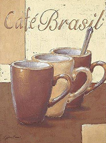 Toile sur cadre - Björn Baar: Cafe Brasil 40 x 50 cm