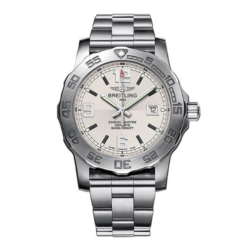 Breitling Men's A7438710/G743SS Silver Dial Colt 44 Watch