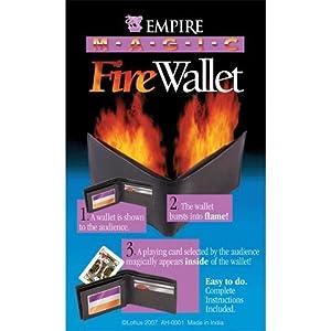 Empire Magic Flaming Fire Wallet Trick