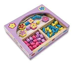Melissa & Doug Flower Power Bead Set