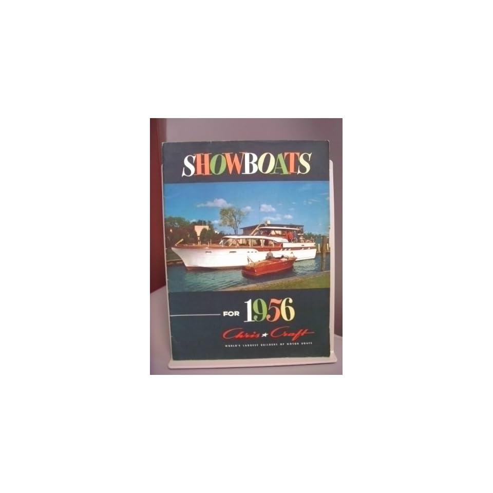 Vintage 1956 Chris Craft Showboats Catalog 26 Pages Mint on PopScreen