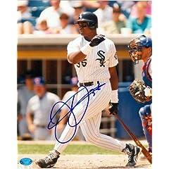 Frank Thomas autographed 8x10 photo (Chicago White Sox) Image #4