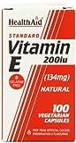 HealthAid Vitamin E 200iu - 100 Vegicaps