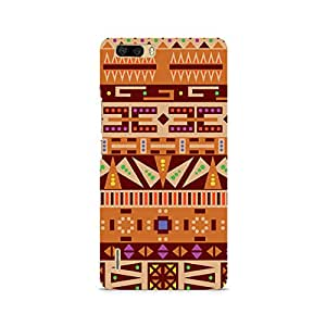 Ebby Tribal Pizza Premium Printed Case For Huawei Honor 6 Plus