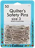 Quilter's Safety Pins Size 3 50/Pkg