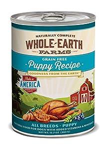 Whole Earth Farms Puppy Recipe, 12.7-Ounce
