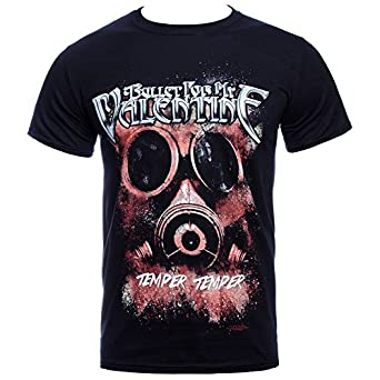 Bullet For My Valentine Temper Temper Gas Mask T Shirt (Schwarz) - Small