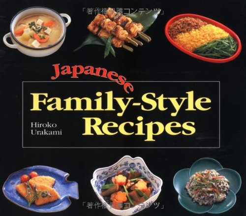 Japanese Family-Style Recipes