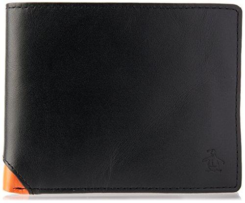 original-penguin-mens-colour-corner-wallet-in-black-one-size