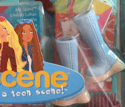 Imagen de Barbie My Scene Club de Cumpleaños CHELSEA MUÑECA w Stylin 'Botas para muñeca Nolee & More (2004)