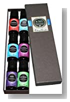 Synergy Blends- (Aphrodisiac, Hope, Purification, Relaxation, Stay Alert, Stress Relief) Top 6 Basic Therapeutic Grade Aromatherapy Sampler Pack 100% Pure Essential Oil Gift Set- 6/10 ml